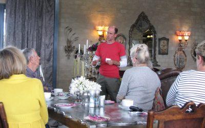 Garden talks popular with groups